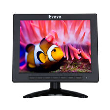8 Inch LCD HD DSLR Monitor 4:3 VGA BNC/TV Video Audio HDMI For Security System