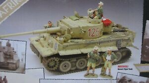 AK39(SL) King And Country German Afrika Corps Tunisian Tiger Tank RARE & NEW