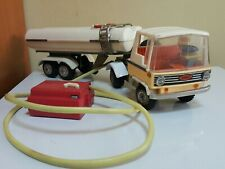 VINTAGE TOY TRUCK ZBIK CISTERN LARGE PLASTIC TOY BATTERY OPERATED REMOTE POLAND