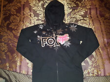 Fox Rider Metallic Silver & Pink Hoody Jacket