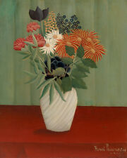 Bouquet of Flowers by Henri Rousseau 60cm x 48cm Art Paper Print