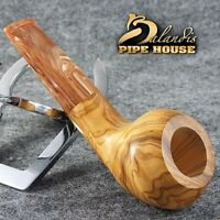 Exclusive BALANDIS Original Handmade Tobacco Smoking pipe MARIACHI Olive