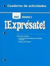 Expresate! Cuaderno de actividades, Level 2,  Student Edition