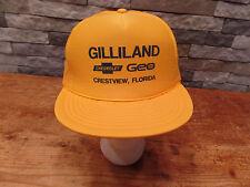 Gilliland Chevrolet Trucker Hat Chevy Geo Crestview Florida Mesh Snapback Nice