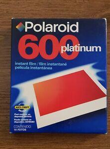 Polaroid 600 Instant Film Photo Pack of 10 Exposures~Expired 01/2009~New Sealed