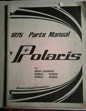 1975 Polaris Snowmobile Colt & Ss Colt Parts Manual