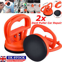 2x Mini Dent Puller Car Repair Suction Cup 30kg Max Weight Bodywork Damage Panel