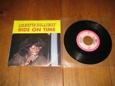 Loleatta Holloway.A.Ride on time.B.Love sensation.(6689)