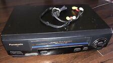 Panasonic Vcr Omnivision Vhs Player Pv-V4521 A 4 Head Hi-Fi Stereo Recorder