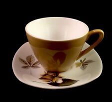 """Midwinter Stylecraft Fashion Shape """"Nuts In May"""" Coffee Cup & Saucer"""