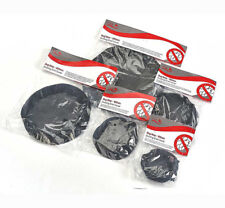 """FOX BUG/INSECT BARRIER SCREEN SHIELD NET MESH COVER INTAKE FANS DUCTING 4"""" 100mm"""