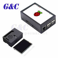 3.5 inch TFT LCD Touch Display screen + ABS Case Kit For Raspberry Pi 3 Model B+