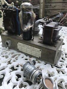 WW2 WS19. Wireless Set No 19 240volt Power Unit Type 862 Supply. Working