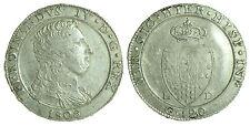 pci0260) Regno Napoli Piastra 120 grana Ferdinando IV 1805 ottimo esemplare