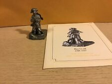 Saturday Evening Post Franklin Mint Pewter Figurine Bless Us All