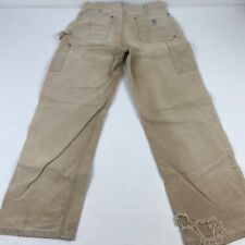 Vintage Olive Green Carhartt Cargo  Painter Pants Made in Nicaragua Size 46/'