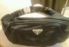 PRADA waist bag belt bag nylon fanny pack, v132 authentic tessuto montagne