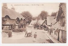 Shanklin,Isle of Wight,U.K.The Old Village,L.L. # 23,c.1909