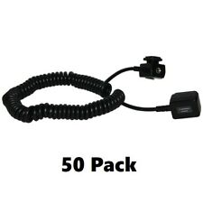 Agfa Off Camera Shoe Cord For Sony ALPHA DSLR-A900, A550, A500 Cameras -50 Pack