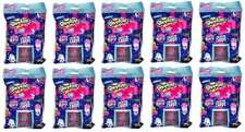 SHOPKINS DELUXE PACK SEASON 7 COLLECTOR CARDS & FIGURE BLIND BAG LOT (10) TY345