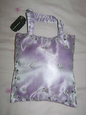 BNWT Ladies Lilac Evening Bag with Diamante Pattern by Tie Rack #Christmas