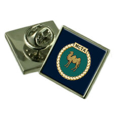 Royal Navy Mcta Sterling Lapel Pin Badge