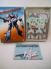 90's Bandai 1/72 scale Macross VF-1J Hikaru Valk NMIB Kit Robotech Rick Hunter