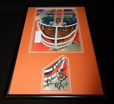 Rubin Carter Signed Framed 1977 Sports Illustrated Cover Display Broncos