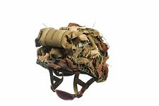WWII US Army Airborne m1c Helmet With Airborne Troops Aid Kit & Camouflage Net