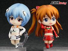 EVANGELION RACING Rei Ayanami & Shikinami Asuka Nendoroid