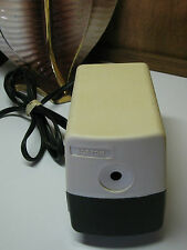 VTG BOSTON Electric PENCIL Sharpener Model 19 w/ Pencil Holders Made in the USA
