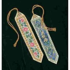 Counted Cross Stitch Kit ELEGANT BOOKMARKS Dimensions Gold Collection