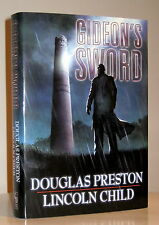 DOUGLAS PRESTON LINCOLN CHILD GIDEON'S SWORD SIGNED LIMITED EDITION NEW UNREAD