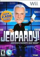 NEW Nintendo Wii Jeopardy Game w/ Alex Trebek Factory Sealed