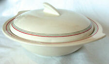 Vintage/Retro Striped Serving Dishes