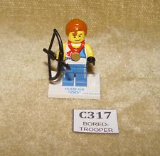 LEGO Minifigures Series Team GB Minifig: coltgb-9 Agile Archer Set (2012) 100%