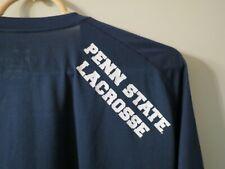 Penn State Lacrosse Nike Team Issued Dri Fit Shirt, Size 2Xl, Blue