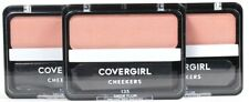 3 Ct Covergirl Cheekers 135 Snow Plum 0.12 Oz Natural Long Lasting Blush
