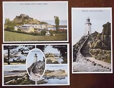 Jersey, Unposted Color Postcards x 3. Published by E.T.W. Dennis and Sons Ltd