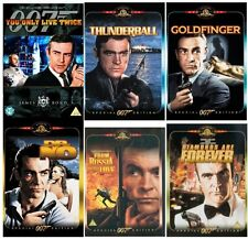 SEAN CONNERY JAMES BOND 007 DVD COMPLETE COLLECTION All 6 Movie Films New UK