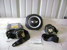 07 08 09 10 Mini Cooper Air Bag Set Wheel Belts Module 3 Spoke Hard Top