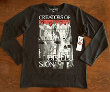 Casualties Of Summer L/S Thermal Mens Size M NWT