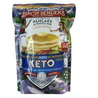 Birch Benders KETO Pancake & Waffle Mix 30oz Just Add Water 5G Net Carbs