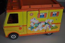 Vintage Barbie Country Camper 1971 Yellow/Orange Rv Toy Vehicle