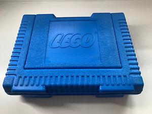 1984 LEGO Blue Suit Case Storage Box - Used Condition