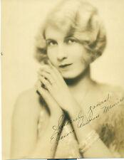 ELEANORA AMBROSE MAURICE Orig 1920s Photo Hand Signed Edward Thayer Monroe