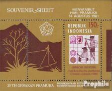 Indonesia Blok 41 (volledige uitgave) postfris MNH 1981 Jamboree