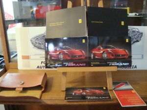 For sale complete and original Ferrari 599 Fiorano owners manual set