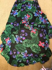 Ladies Floral Waterfall Skirt Size 12 NEW With Tags