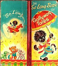 Vintage THE SO LONG BOOK OF GOLLYWOG TALES Justin Michman THE CHILDRENS PRESS